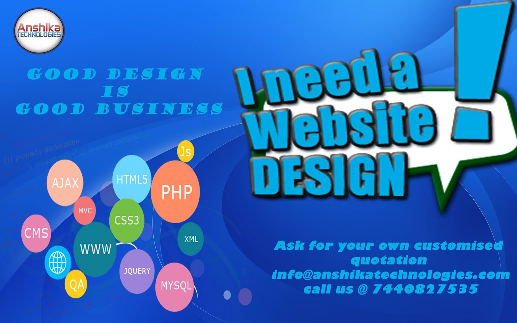 website design in bhopal